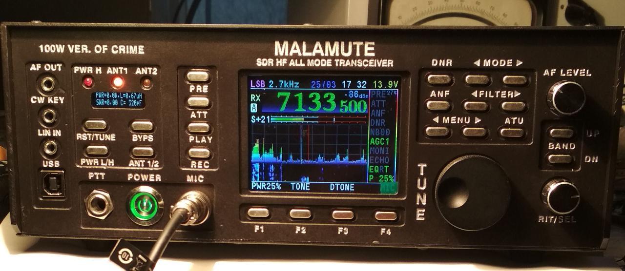 SDR-MALAMUTE 100W